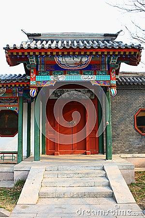 Chinese gatehouse