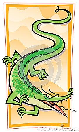 Chinese Gator/Dragon