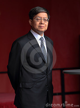 Chinese General Consul Wen Zhenshun Editorial Photo