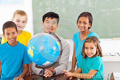 Chinese geography teacher