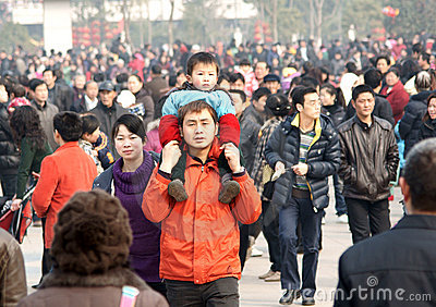 Chinese get toghther Editorial Photo