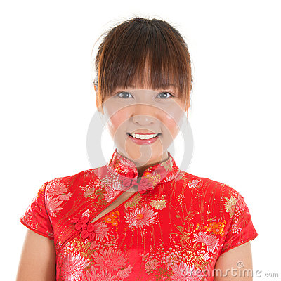 Free Chinese Girl Face Royalty Free Stock Photo - 33275515