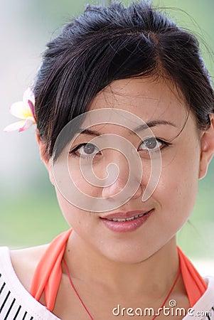 CHINESE GIRL - PORTRAIT
