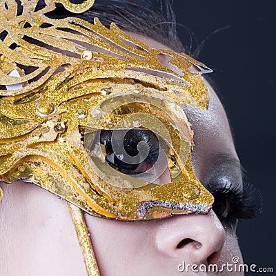 Chinese girl s eye