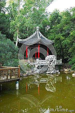 Chinese gloriette