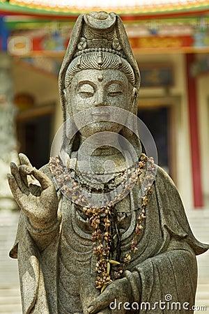 Chinese goddess statue
