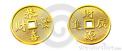 Chinese Golden Coin
