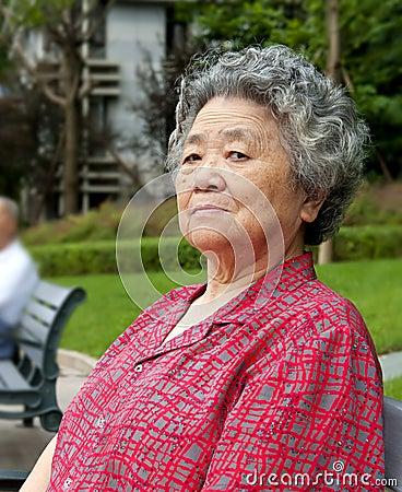 chinese grandmother stock image   image 17615811
