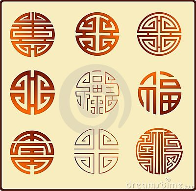 Chinese graphic symbols