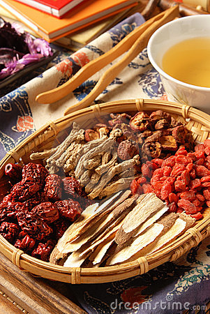 Free Chinese Herbal Medicine Royalty Free Stock Photos - 17674838