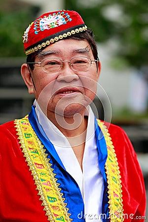 Free Chinese Hui Nationality Male Old Man Stock Photo - 79437390