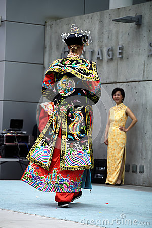 Chinese Imperial Robe Editorial Stock Image