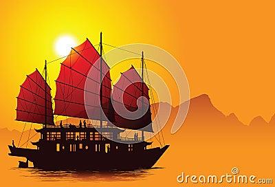 Chinese junk