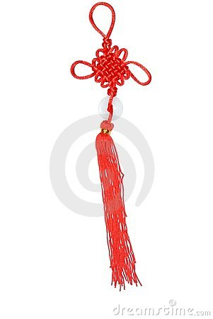 Chinese knot new year ornament