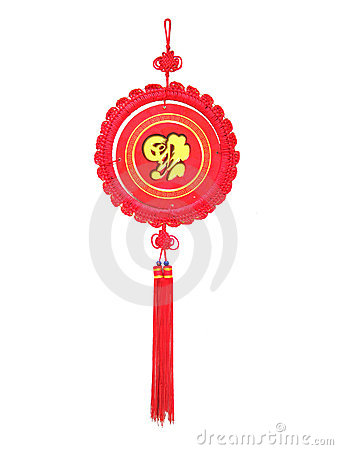 Chinese Knot and New Year picture