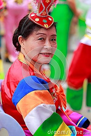 Free Chinese Korean Ethnic Elderly Woman Stock Photo - 79533310