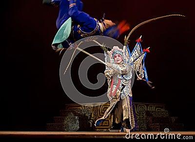Chinese Kunqu Opera Gongshunzidu Editorial Stock Image