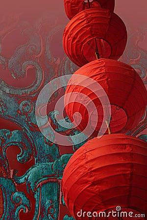 Free Chinese Lantern Stock Image - 3774521