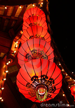 Free Chinese Lanterns Stock Photos - 12002653