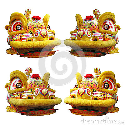 Free Chinese Lion Dance Head Stock Photos - 36930713