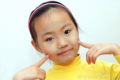 Chinese little girl