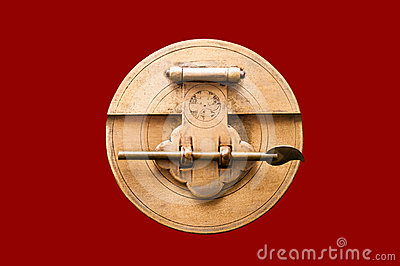 Chinese Lock Royalty Free Stock Photography Image 24484807
