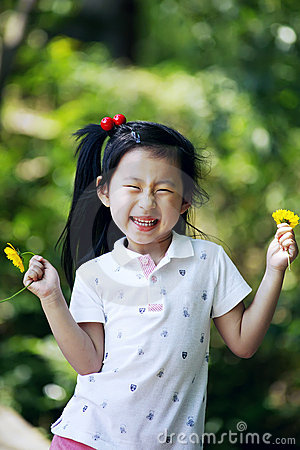 Free Chinese Lovely Girl Royalty Free Stock Images - 19845829
