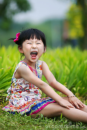 Free Chinese Lovely Girl Royalty Free Stock Photo - 19928245