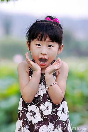 Free Chinese Lovely Girl Royalty Free Stock Photo - 19928735