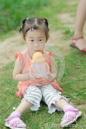 Chinese lovely little girl