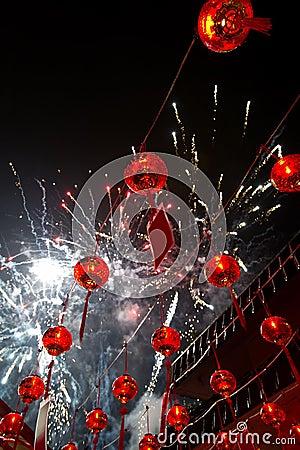 Free Chinese Lunar New Year Celebration Royalty Free Stock Image - 22499706