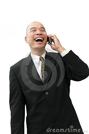 Free Chinese Man In Suit Stock Photos - 500003
