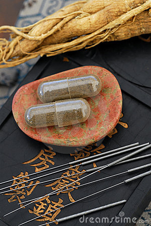 Free Chinese Medicine Royalty Free Stock Images - 833169