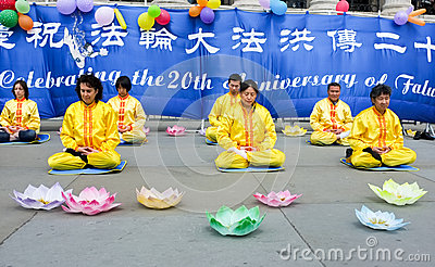 Chinese Meditation event Editorial Photo