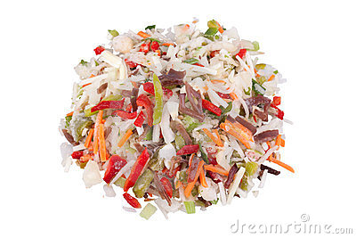 Chinese mix, frozen vegetables with black fungus