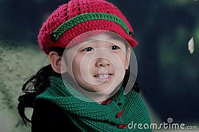 Chinese Modern girl