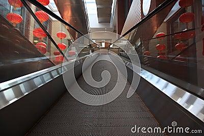Chinese modern shopping mall