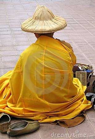 Chinese Monk