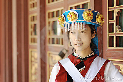 Chinese Naxi woman