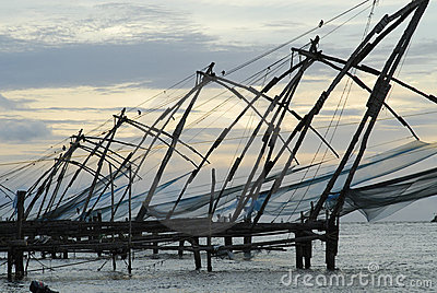 Chinese Nets, Fort Cochin