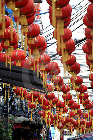 Chinese New Year 2012 - Bangkok , Thailand Editorial Stock Photo