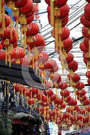 Chinese New Year 2012 - Bangkok , Thailand Editorial Stock Photo