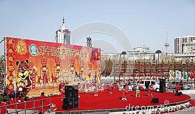Chinese new year celebration 2010 Editorial Photo