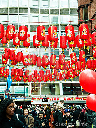 Chinese New Year Celebrations Editorial Photography