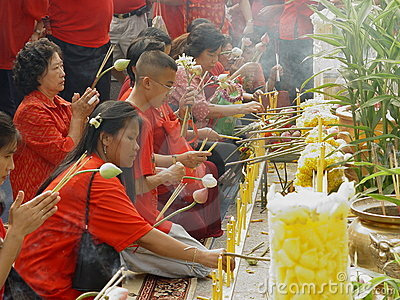 Chinese New Year Celebrations. Editorial Stock Image