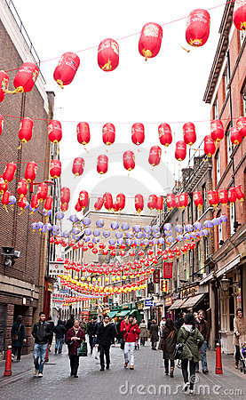 Chinese New Year Celebrations. Editorial Image