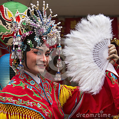 Chinese New Year Celebrations - Bangkok - Thailand Editorial Stock Photo