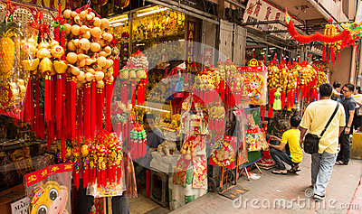 Chinese new year in Chinatown, Manila, Philippines Editorial Photography
