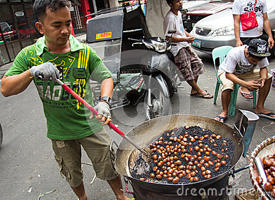 Chinese new year in Chinatown, Manila, Philippines Editorial Stock Photo