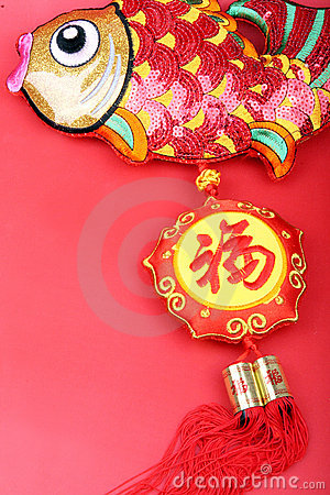 Chinese New Year decorations,